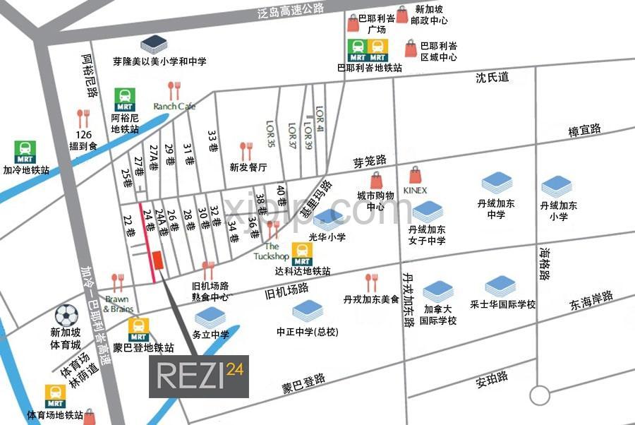 Rezi 24 CN Map