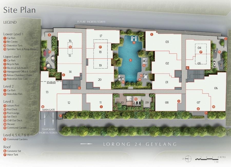 Rezi 24 Site Plan