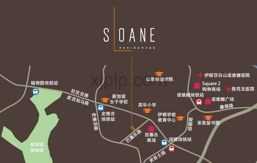 Sloane Residences Location CN