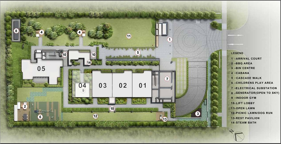 Sloane Residences Site Plan 1