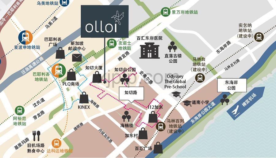 Olloi CN Map