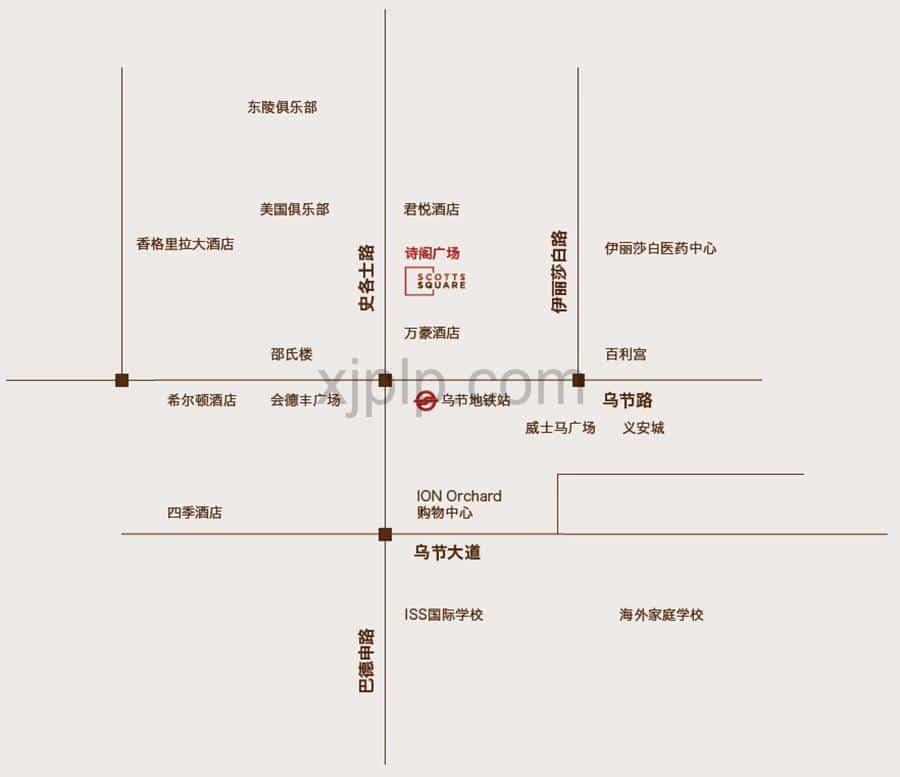 Scotts Square CN Map