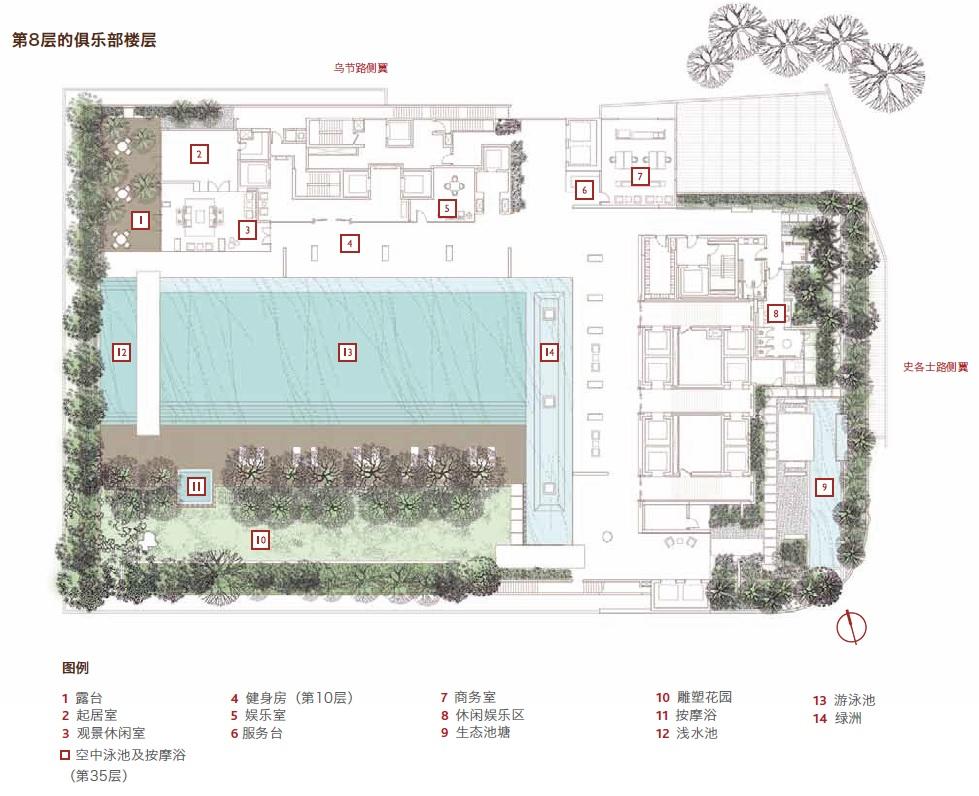 scotts square site plan