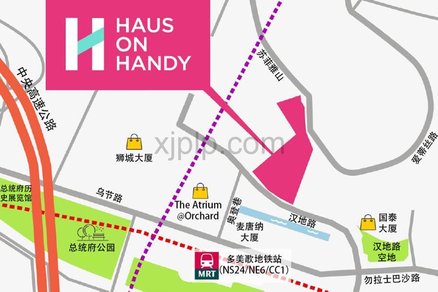 Haus On Handy CN Map