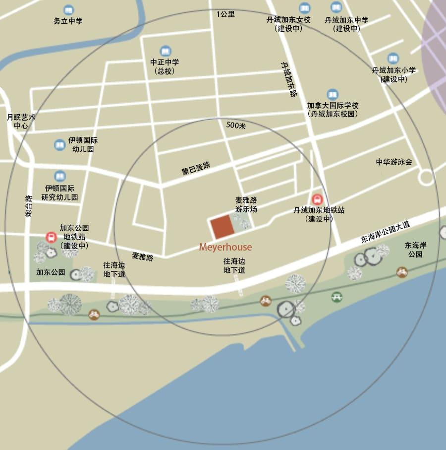 Meyerhouse Location Map CN