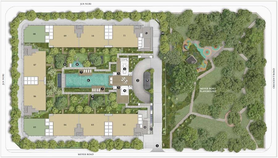 Meyerhouse Site Plan 1