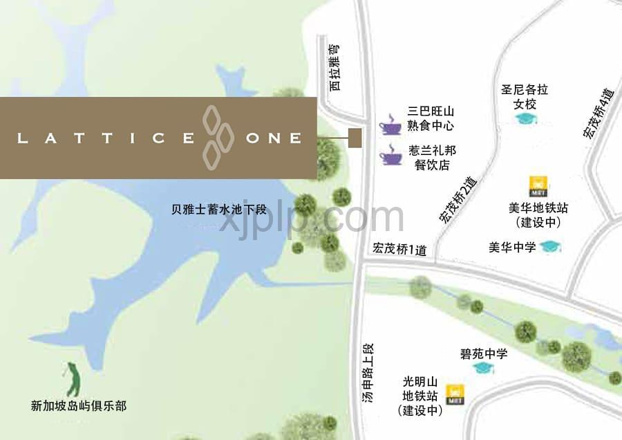 Lattice One CN Map