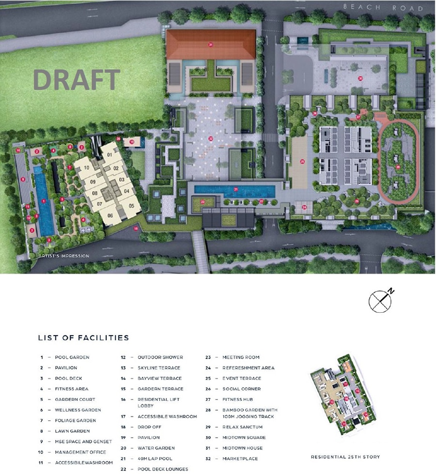 Midtown Bay Site Plan