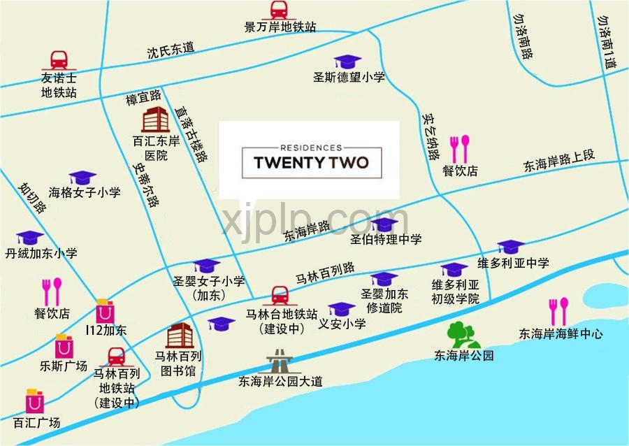 Residence Twenty Two CN Map