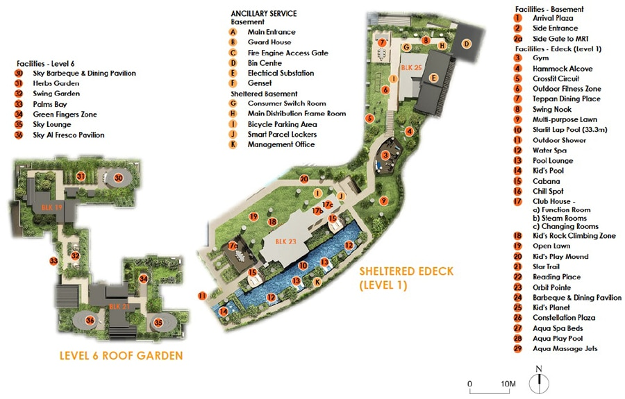 The Antares Site Plan 2