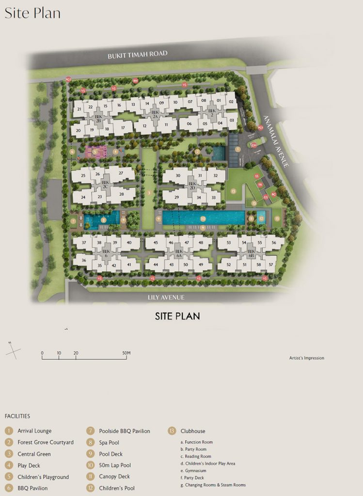 RoyalGreen Site Plan 1