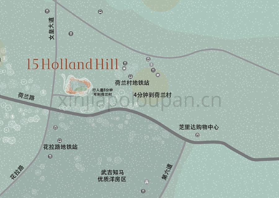 15 Holland Hill Location Map CN 1