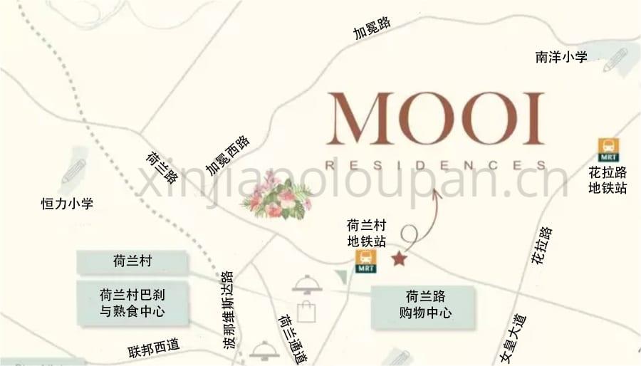Mooi Residences Location CN1