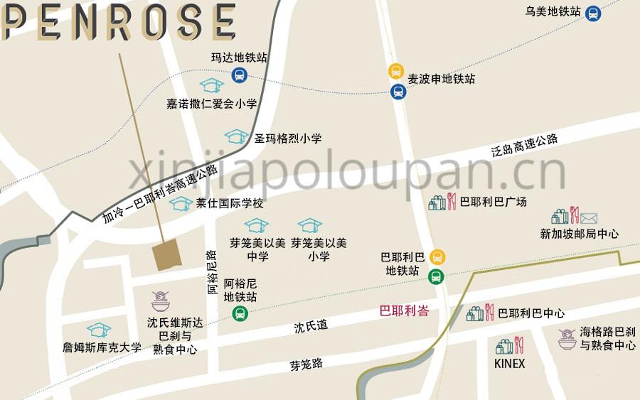 Penrose Condo Location CN2