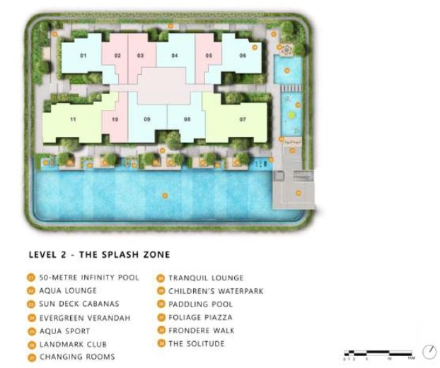 the landmark condo site plan 2