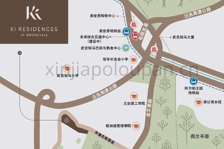 Ki Residences Location Map CN1