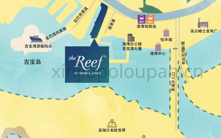 The Reef @ King's Docko Location Map CN 1