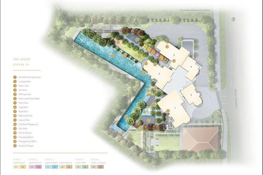 Klimt Cairnhill Site Plan 2
